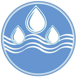 Water Icon cropped from JPEG file